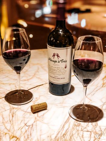 MenageTois Red Wine