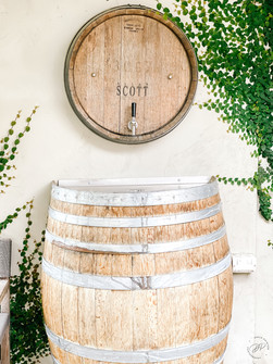 Adam Scott Wine Barrel