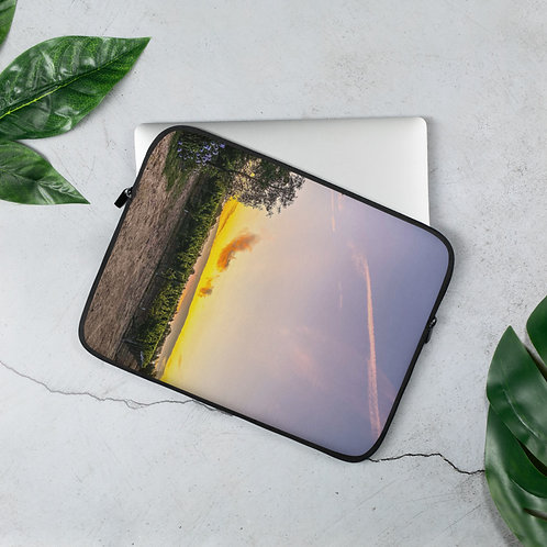 Laptop Sleeve Vineyard at Dusk