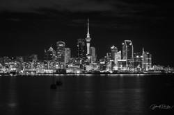 Auckland CBD BW