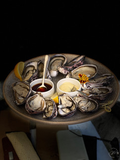 Oysters at Cloudy Bay