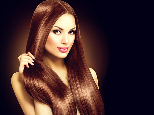 Light Brown Silky Straight Hair Extensions