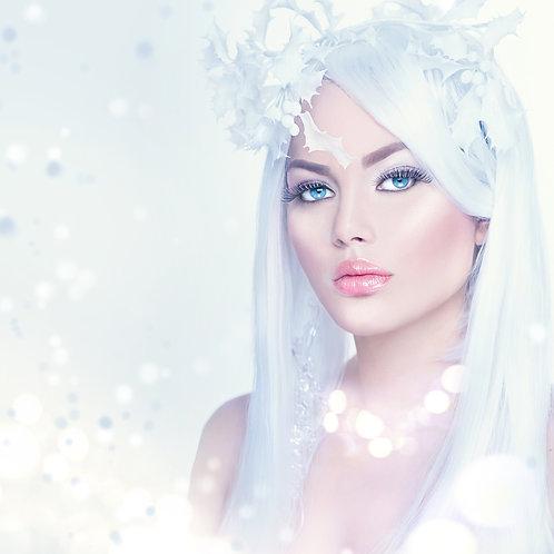 """Wig Winter White Color 60 20"""""""