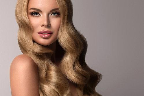 Blonde Bodywave Clip in Hair Extension