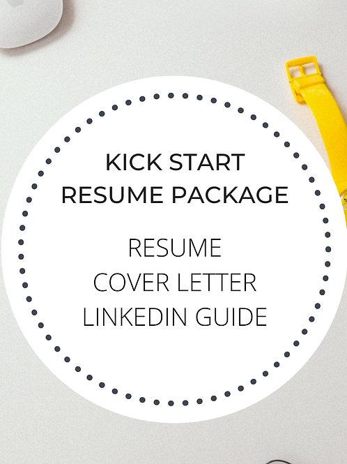 Kick-Start Resume Writing Package
