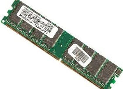 Micron 256mb DDR Pc3200u-30331-z Cl3 RAM Memory