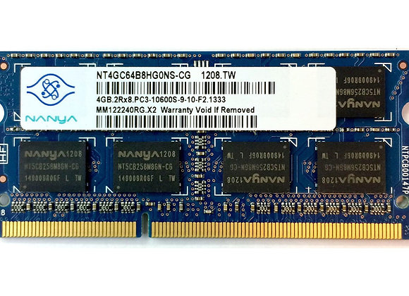 Nanya 2GB DDR3 Memory SO-DIMM 204pin PC3-10600S