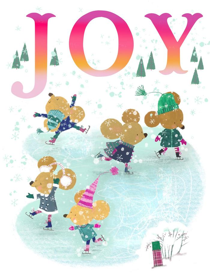 Joyful Mice card