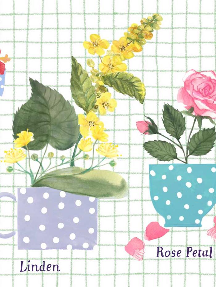 Drinkable Flowers Detail