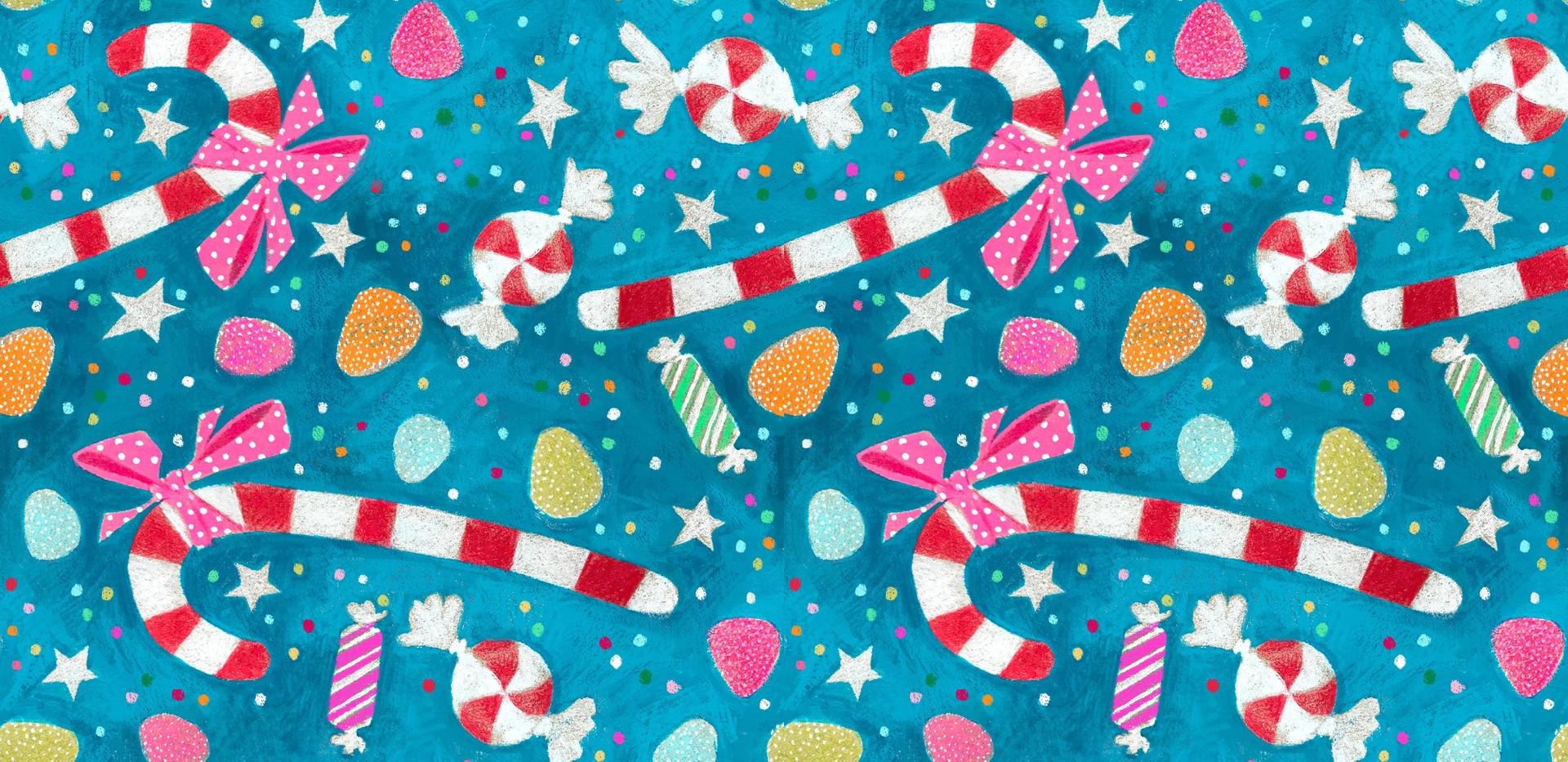 Candy Universe Pattern
