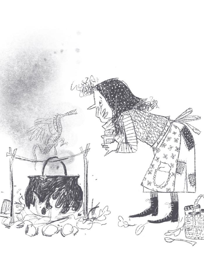 Woodsy witch
