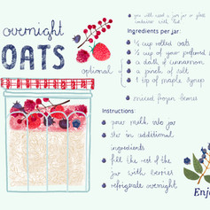 Food and Ilustrated Recipes