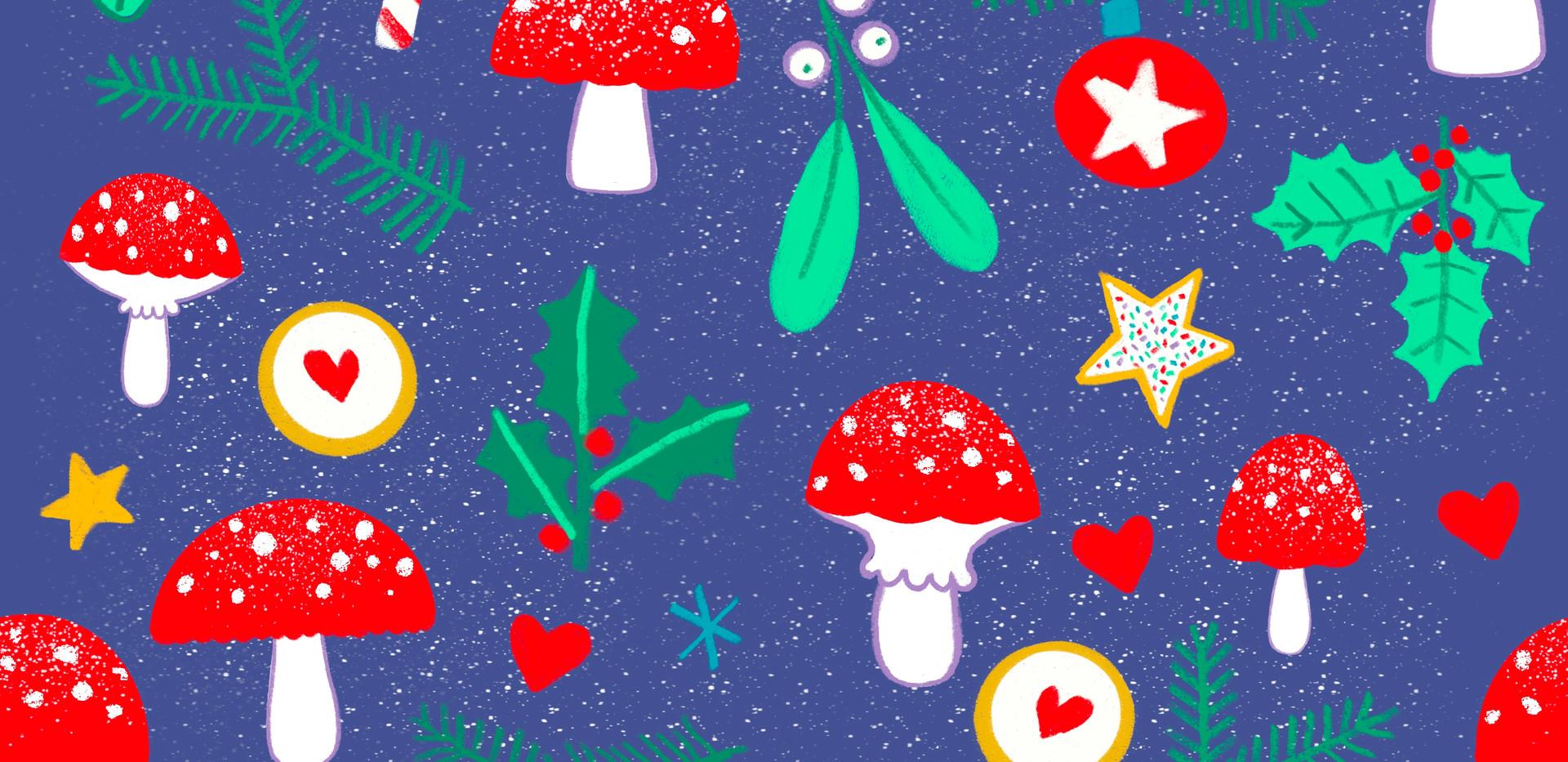 Mushroom Christmas