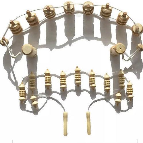 Pro Medium & Small Body Ribbed Belt Set