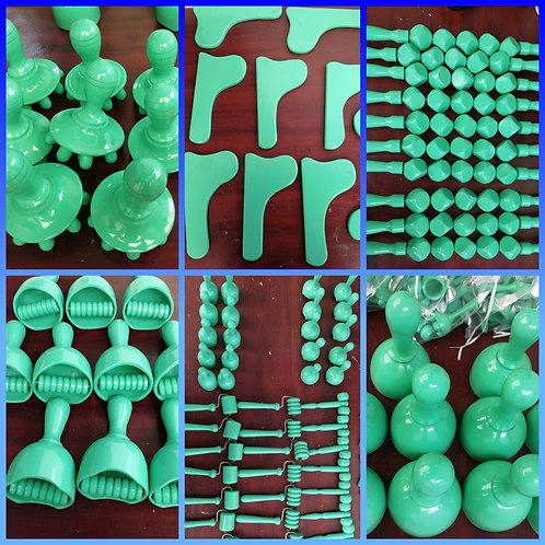 Lime Wood Tools- 12 pieces