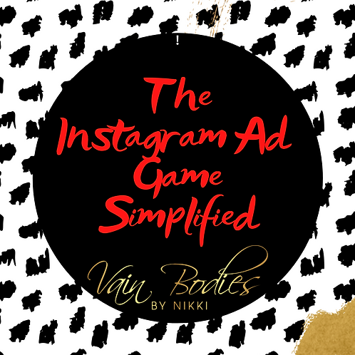 The Instagram Ad Game Simplified Online Class