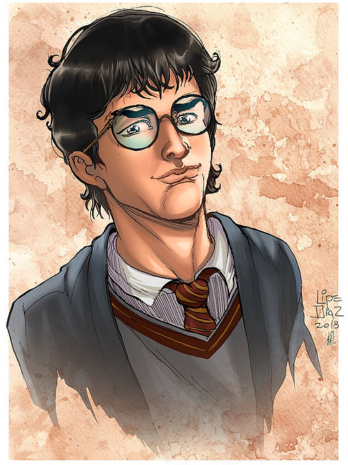 Print A4 - Harry Potter