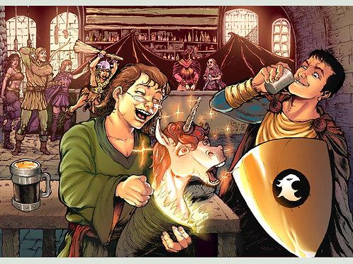 Print A3 - Taverna do Dragão