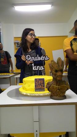 Aniversário da escola Lipe Diaz