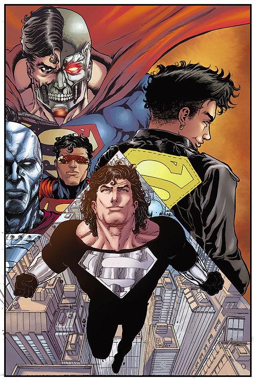 Print A3 - Retorno do  Super Man