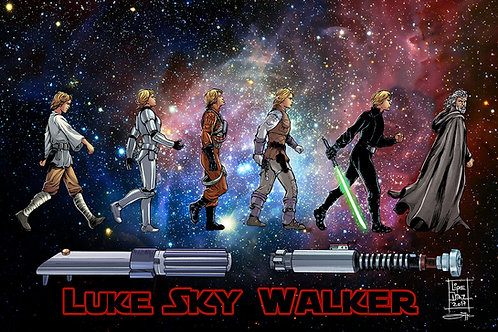 Print A3 - Luke Skywalker