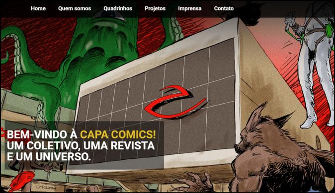 Capa Comics 1