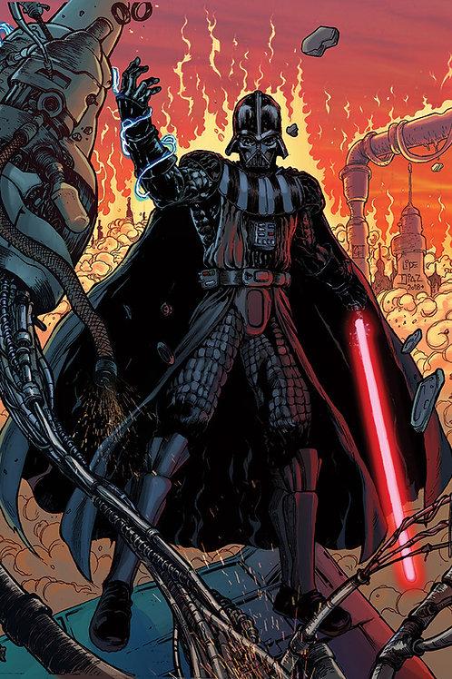 Print A4 - Darth Vader