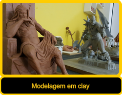 Modelagem em clay