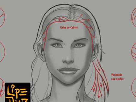 Tutorial: Aprenda a desenhar cabelo!