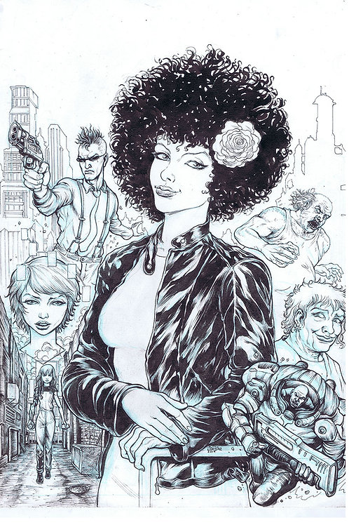 Capa do Livro Monalisa e a Família Ciber Punk