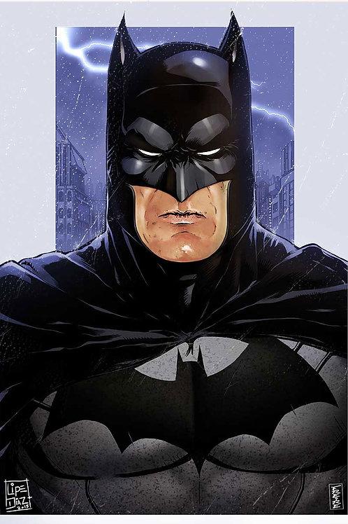 Print A3 -Batman Azul