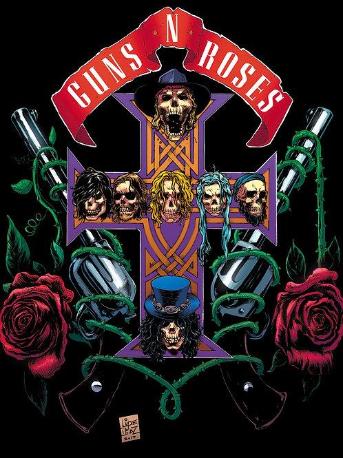 Print A3 - Guns and Roses