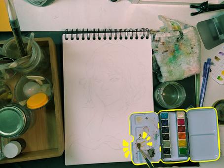 Tutorial: Como pintar com aquarela?