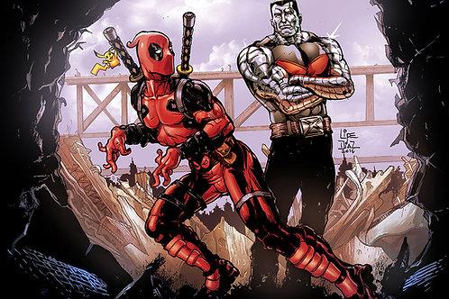 Print A3 - Deadpool