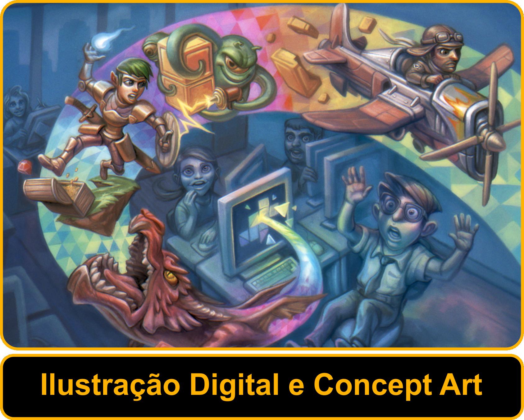 Ilustração Digital e Concept Art