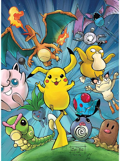 Print A3 - Pokemon