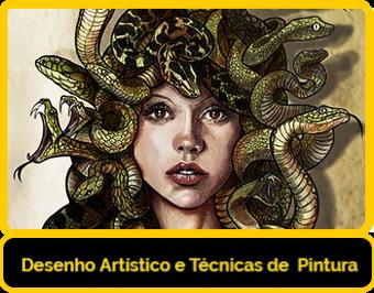 Curso de Desenho artístico e técnicas de pintura