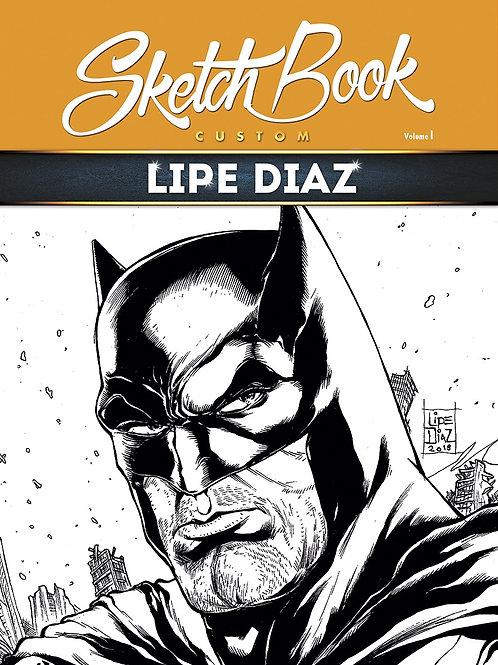 Lipe Diaz Sketchbook - Editora Criativo