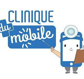Logo Clinique du Mobile Limoges, magasin de reparation, vennte smarphone reconditionnés