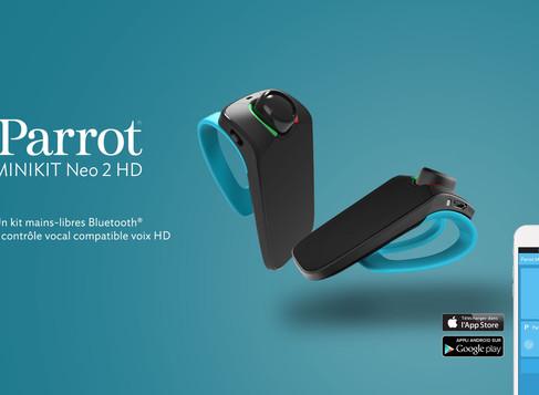 Test du Kit Main Libre Bluetooth       Parrot Mini Kit Neo 2 HD