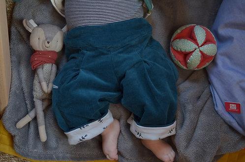 MORILLE version personnalisable - Le pantalon en velours
