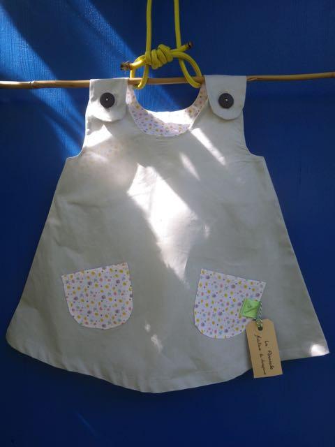 MARGUERITE - La robe trapèze