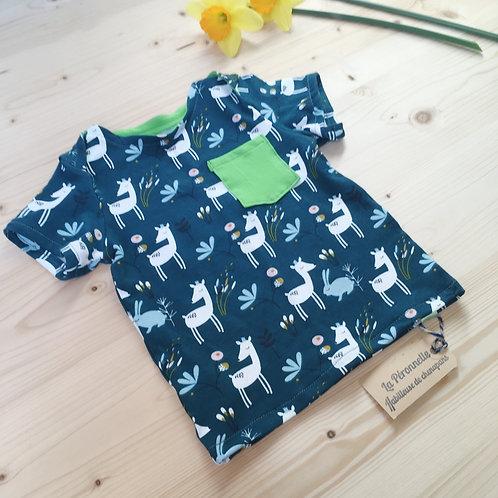 CHICORÉE - Le tee-shirt à manches courtes