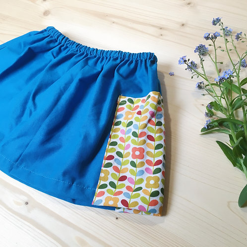 BOURRACHE - La jupe courte à poche