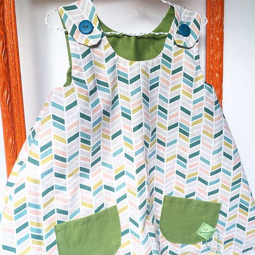 MARGUERITE version personnalisable- La robe trapèze