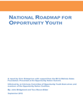 Opportunity Youth National Roadmap Final