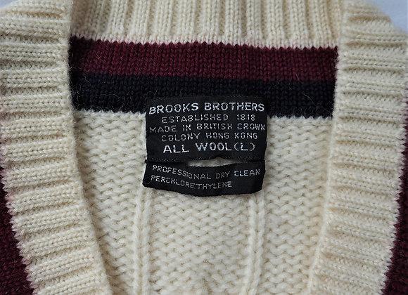 Vintage Brooks Brothers Varsity Sweater