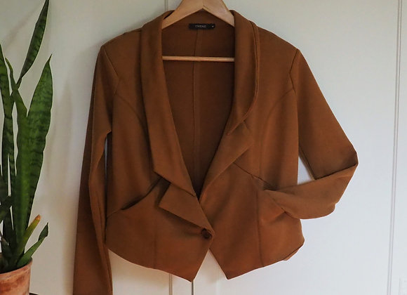 Asymmetrical Crop Jacket