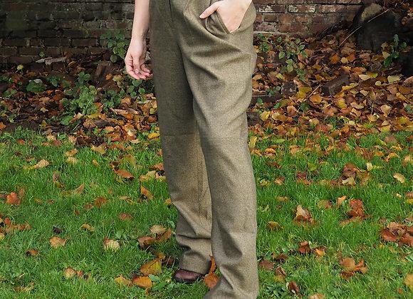 Vintage Hight Waisted Tweed Slacks