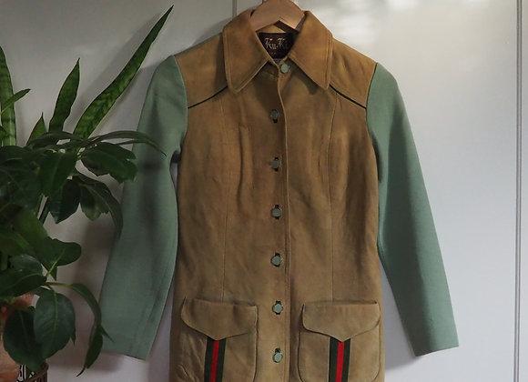 Vintage Ku-Ki Wool/Suede Jacket